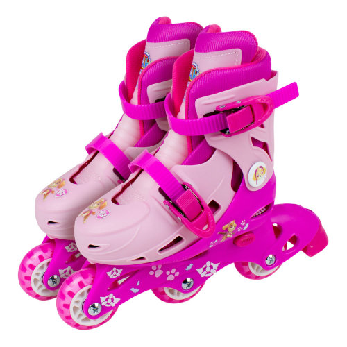 PAW PATROL Skye 2-in-1 Tri to Inline Roller Skates Size 9-11.5