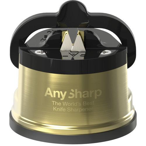 AnySharp Pro Chef Knife Sharpener Gold