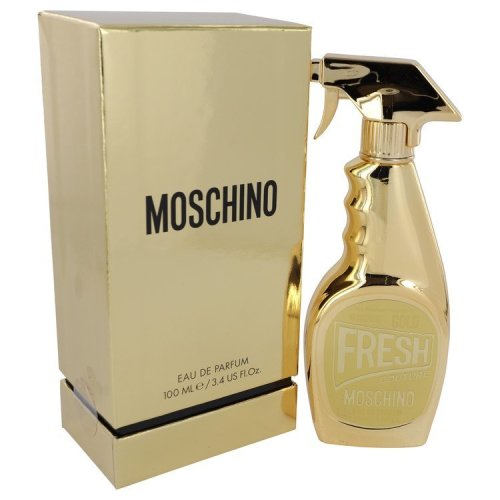 Moschino Fresh Gold Couture By Moschino Eau De Parfum Spray 34 Oz