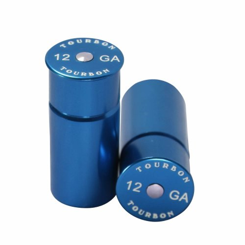 Tourbon Hunting Shotgun 12 Gauge Shells Snap Cap (Pack of 2 pieces) (Blue)