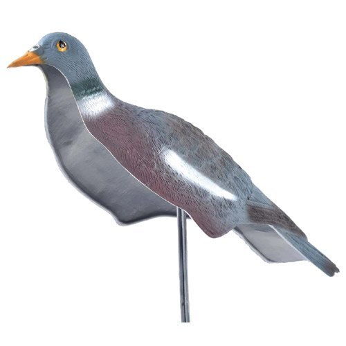 East Anglian - Pigeon Decoy Shells and Stakes - Pack of 12