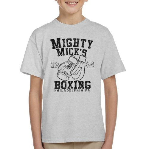 Rocky Inspired Mighty Micks Boxing Kid's T-Shirt