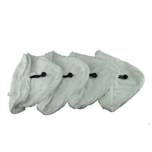 4 X Steam Mop Microfibre Cleaning Cloth Cover Pads Kit Fits Vax