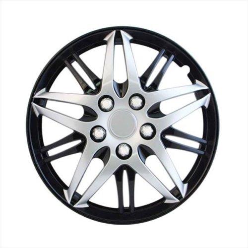 Pilot Automotive WH544-14C-BLK 14 In. Wheel Cover - Black Chrome