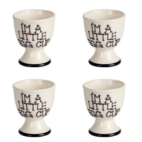 Fairmont & Main I'm A Little Egg Cup, Set of 4