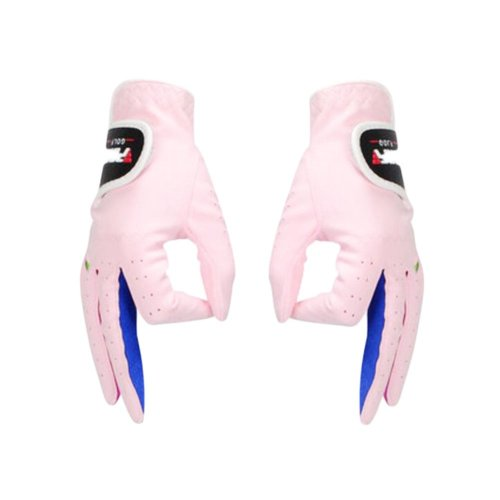 One Pair Of Children Golf Non-slip And Comfortable Gloves-b