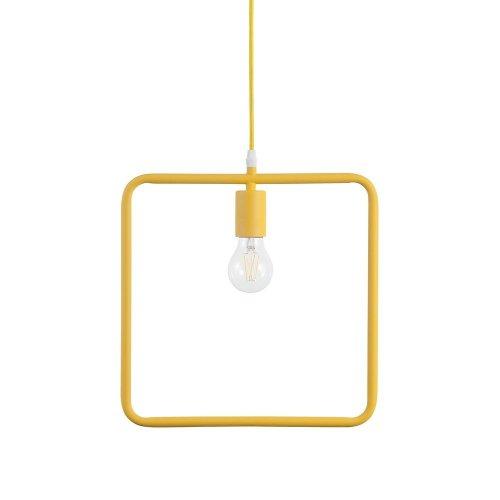 Pendant Light Metal Yellow LERMA