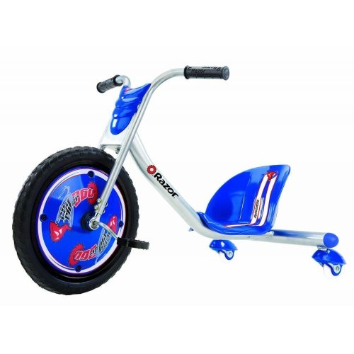 Razor RipRider 360 Caster Trike Blue From 5 years of age and 65 kg max weight 5.0 average based on 3 product ratings 5  3 4  0 3  0 2  0 1  0 Durable   Entertaining   Educational