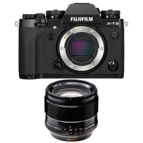 FUJI X-T3 Black + XF 56MM F1.2 R APD Black