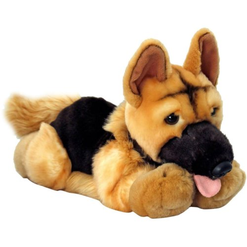 Keel Nero German Shepherd/alsatian Dog Soft Toy 30cm
