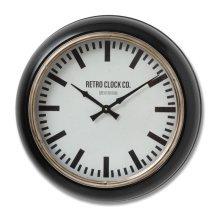 Deep Rim Retro Clock - Terrific Addition Home -  deep rim retro clock terrific addition home