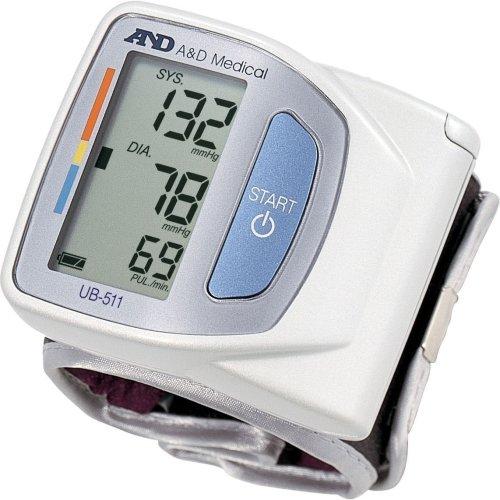 A&D Medical Advanced Compact Wrist Digital Heart Blood Pressure Monitor - UB-511