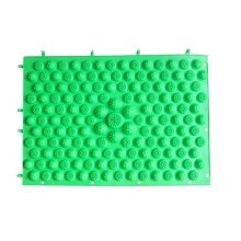 Set of 2 Foot Massager Therapy Mat Foot Massage Pad Shiatsu Sheet [Green]