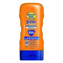 Banana Boat Sport Performance Sunscreen Lotion SPF 100, 4-ounce Bottles (Pack of 2)