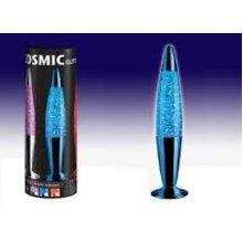 31cm Cosmic Bullet Shaped Glitter Lamp - Blue Cosmic Bullet Shaped Glitter Sparkle Lava Lamps Light Colours Pvc Box