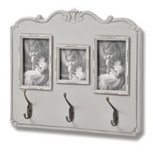 Fleur Multi Frame With 3 Hooks -  fleur multi frame 3 hooks ideal storage soloution home office