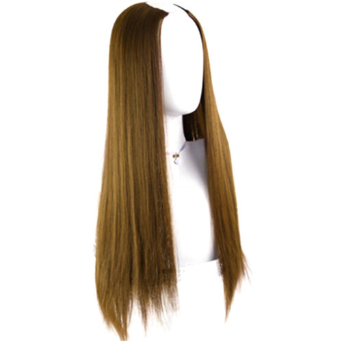 U-shaped Half Head Cover Stealth Seamless Straight Hair Curls#H