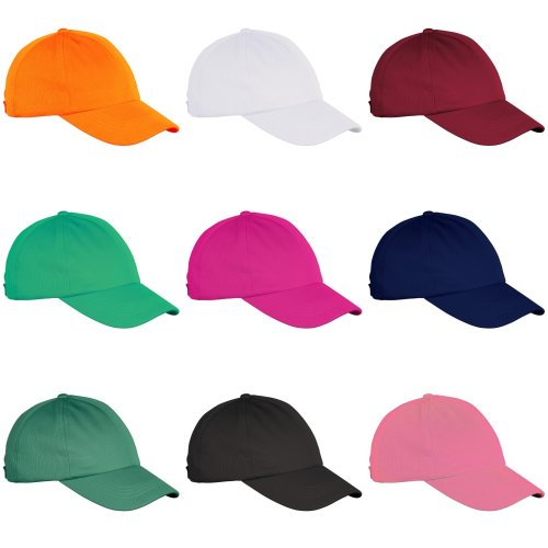 Just Cool Childrens Unisex Baseball Sports Cap With Cooling Mesh