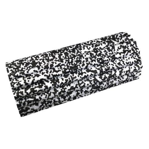 UFE Exercise Fitness Gym Core Foam Flexibility Massage Roller Black/White