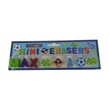 Childrens Mini Erasers - Max