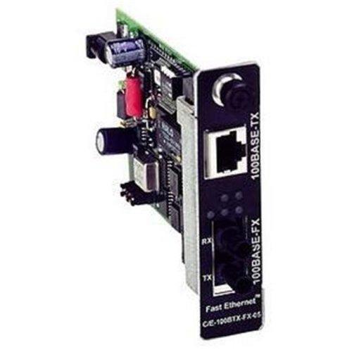 Transition Networks Fast Ethernet Stand-Alone Media Converter - 1 x RJ-45 100Base-TX Duplex  1 x LC 100Base-FX  - UTP  Fiber - Media Converter