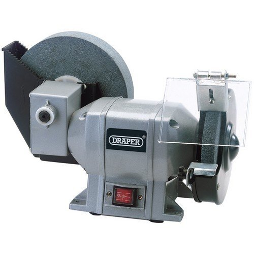 Draper 78456 230V 250W Wet and Dry Bench Grinder
