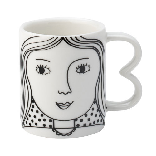 English Tableware Co. Looking Good Espresso Cup, Hers