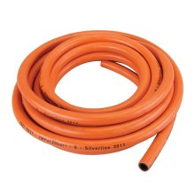 5m Gas Hose Without Connectors -  gas hose silverline propane 5m without connectors butane pipe camping 20 bar