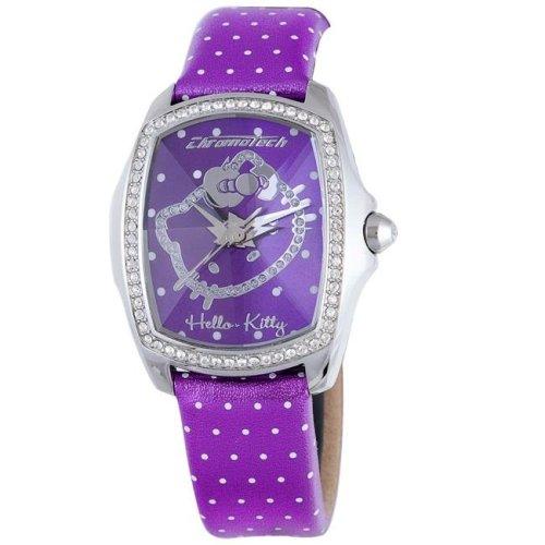 Hello Kitty CT.7896LS-43 Stainless Steel Purple Watch