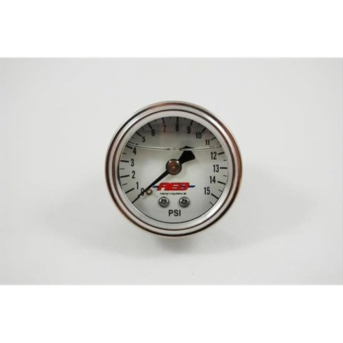 A.E.D. 6101 Fuel Pressure Guage 0-15 Liq