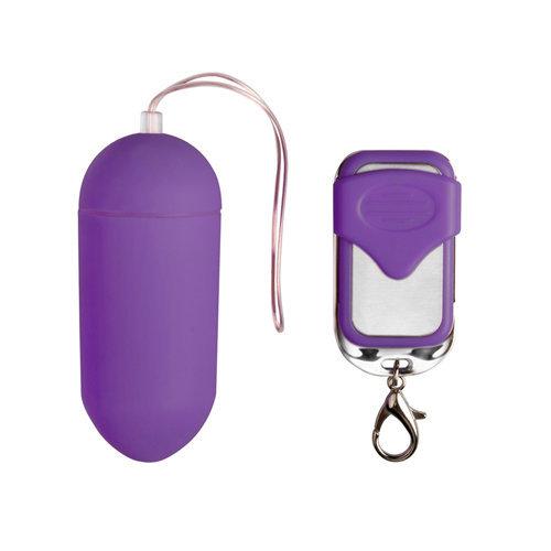 Remote Controllable Vibrating Egg - Purple  Toys for ladies Vibration Eggs - Easytoys Mini Vibe Collection