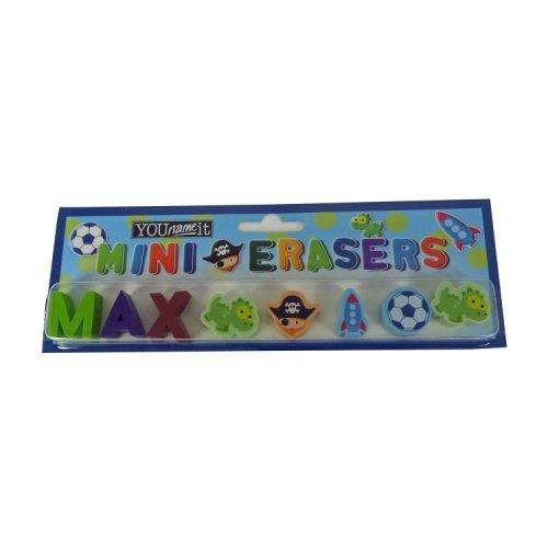 Childrens Mini Erasers - Max