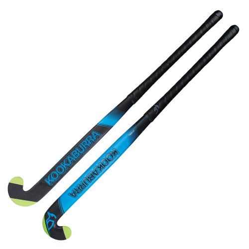 Kookaburra Hydra L-Bow 1.0 Field Hockey Stick Black/Blue