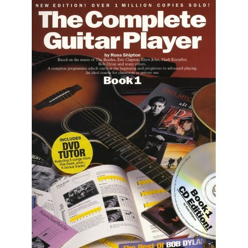 The Complete Guitar Player Guitar Book Cd And Dvd