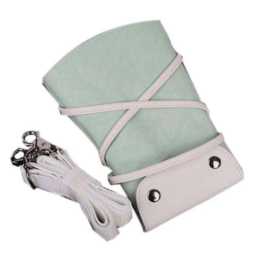 Hair Scissors Bag Hair Beauty Tools Package Hair Stylist Pockets, Light Green