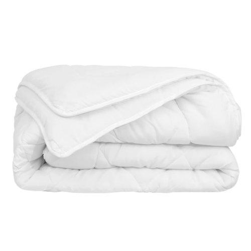 vidaXL 4 Seasons Duvet/Quilt 155x220 cm White