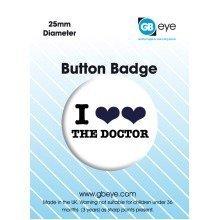 Doctor Who I Love Single Badge