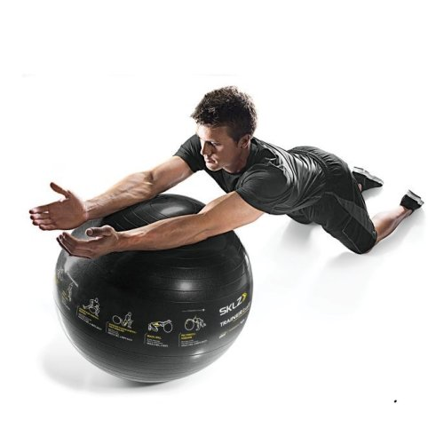 Sklz Core Exercise Trainer Stability Gym Ball with Pump Anti Burst