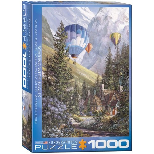 Eg60000630 - Eurographics Puzzle 1000 Pc - Laird - Soaring with Eagles