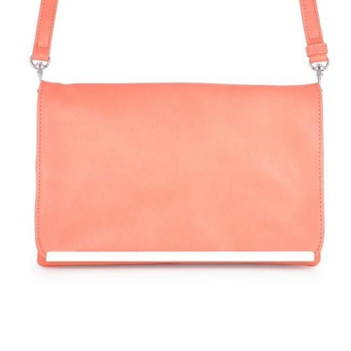 85b1f0a9c7 J Goodin TW-0057-CORAL Martha Coral Leather Purse Clutch with Silver  Hardware on OnBuy