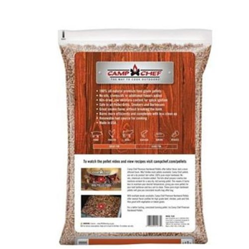 Camp Chef PLHK Grill Premium Hickory Barbecue Hardwood Pellets