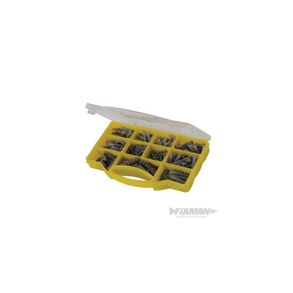 Fixman 530552 330pce Wall Plugs Pack