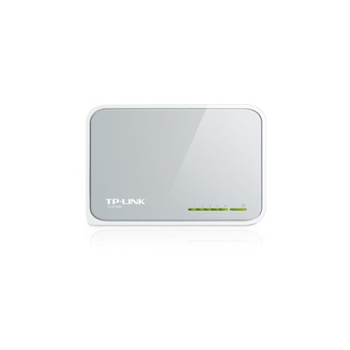 TP-LINK 5-Port 10/100Mbps Desktop Switch Unmanaged White