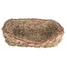 Trixie Grass Bed For Rabbits, 33 x 26 x 12cm - Rabbits 12cm Guinea Natural Pigs -  grass bed x trixie rabbits 33 26 12 cm guinea natural pigs