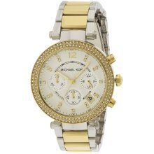Michael Kors Parker Two-Tone Chronograph Ladies Watch MK5626
