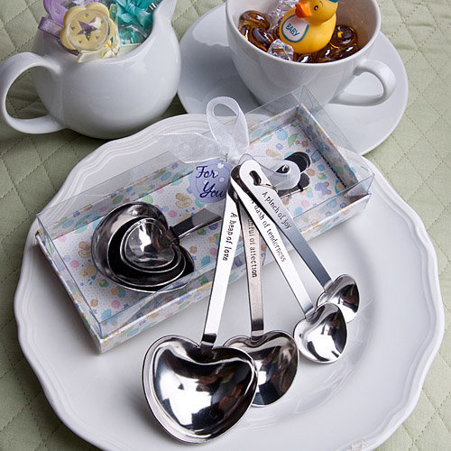 Baby Themed Measuring Spoons Favour