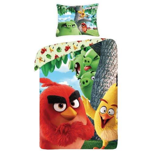 Angry Birds Rotary Duvet Single Bedding Set - Design 1
