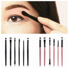 MAANGE 6Pcs Eye Brushes Kit Concealer Eyeshadow Canthus Corner of Mouth Makeup