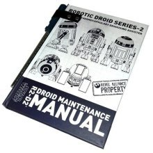 Star Wars R2-D2 Droid Maintenance Notebook