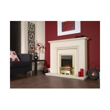 Designer Fire Electric - Celsi Accent Traditional Brass 16''
